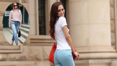 """阔腿裤不受宠了 今年最流行的一种裤子叫""""豆角裤"""" 谁穿谁好看"""