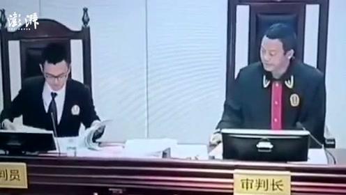 """""""硬核""""法官当庭怒斥区政府"""