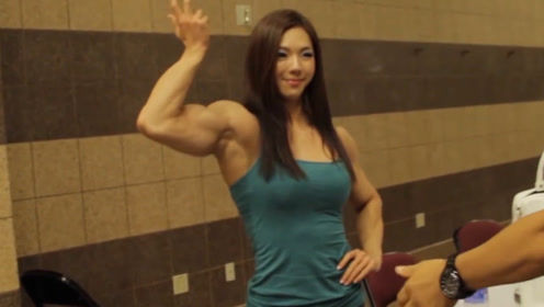 韩国美女健身成金刚芭比,拥有天使般容颜,男生看完却不淡定了!