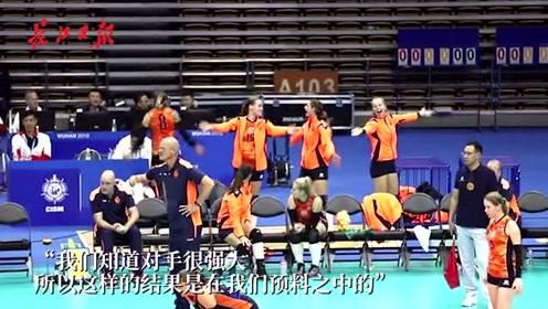 荷兰女排队主教练:武汉是一座很棒的城市,感谢热情的人们