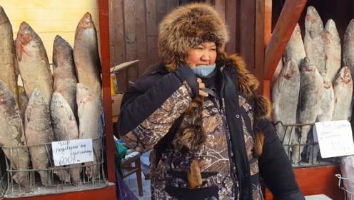 """冰冻之国的雅库特人有多顽强?蔬菜成了奢侈品,出门只能带""""生肉""""!"""