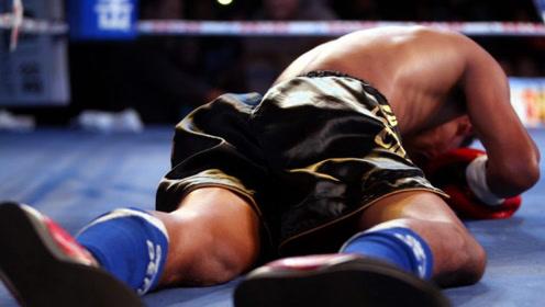 开场一击直接爆头,对手当场被打到在地,惨秒杀KO!