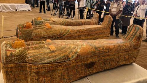 埃及考古重大发现 勒克索出土30具近3000年完整木乃伊
