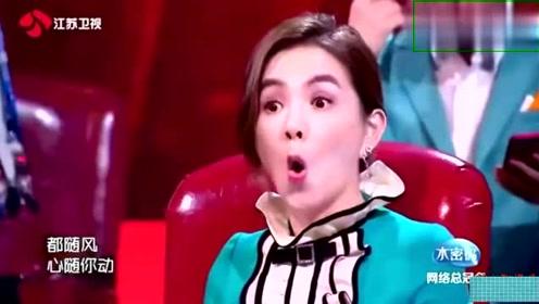 蒙面歌手翻唱《往事随风》,Ella惊艳-有齐秦小哥的味道!