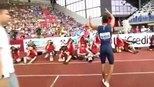 范尼凯克两连冠,真是短跑战神啊