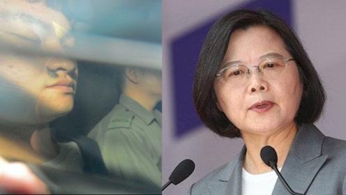 得知蔡当局百般阻拦自己自首 香港杀人嫌犯陈同佳回了俩字