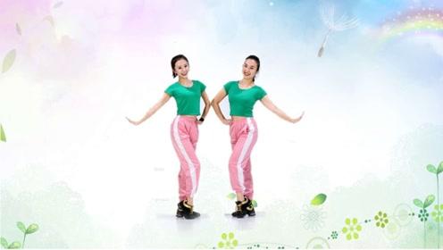 糖豆广场舞课堂《彩虹的微笑》简单轻松,瞬间让你变年轻