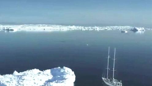冰川融化致5座岛屿浮现 一分钟了解全球变暖的原因及影响