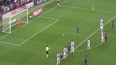 回顾:小伙真的太有实力了,居然能把梅西的点球和补射挡出!
