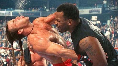 19岁泰森因年轻被美国拳王蔑视,泰森当场被激怒,一拳把他放倒