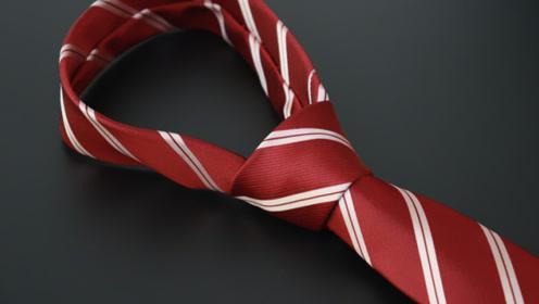 1分钟快速打领带,打出的领带整齐又美观,不会打领带的试一试