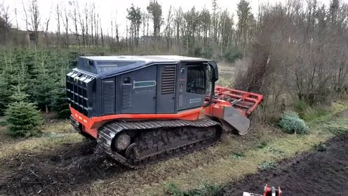 可怕的机器,想毁掉一片树林太容易了