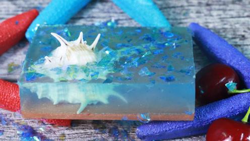 手工皂DIY,有好看贝壳手工皂,是如何制作的呢