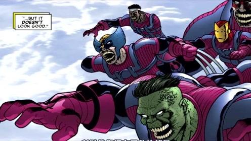 漫威主宇宙英雄遭遇丧尸英雄,激烈碰撞,平行宇宙融合