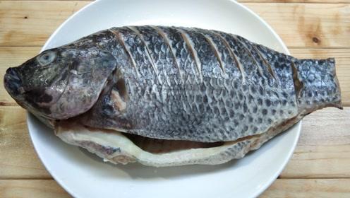 罗非鱼吃了这么多年,头一次见这种做法,真是高手在民间