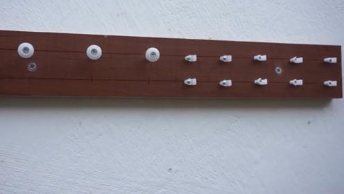 将图钉反向钉在木板上有什么用呢 看完自己也要制作