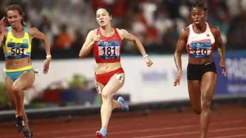 脱颖而出!中国女飞人韦永丽奋力爆发,甩开对手4米夺冠破纪录