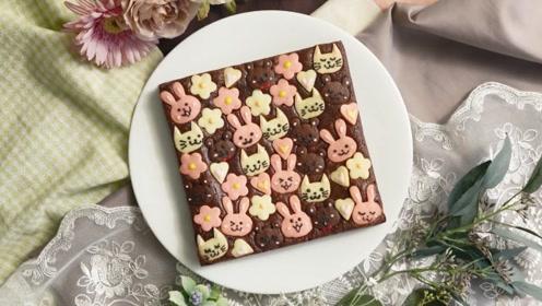 兔兔猫猫熊熊组团求捞,这个布朗尼也太萌了吧!