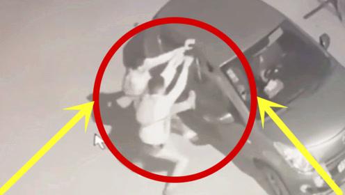深夜!两男子偷偷靠近豪车,趁四下无人竟这样做简直丧心病狂!