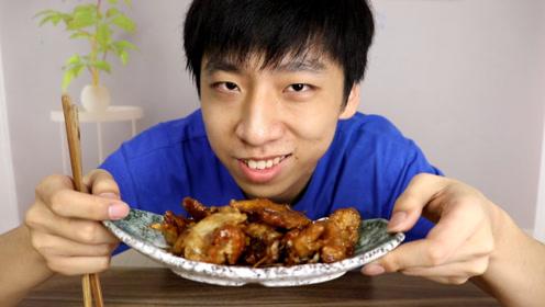 """小伙自制东北名菜""""锅包肉""""脆脆的声音听着都觉得好吃!"""