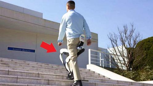 """中国少年发明""""爬楼神器"""",一口气上5楼不费劲,获得国际认可"""