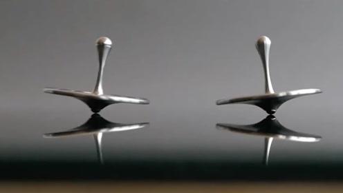 陀螺还能这样玩,用静态外形,展示水滴坠落动态瞬间