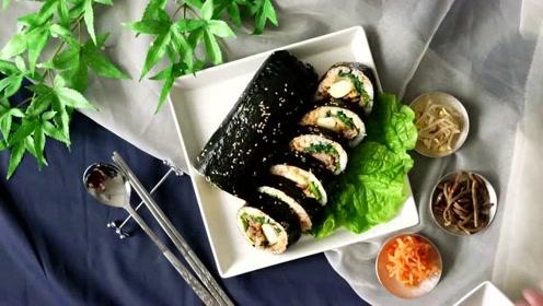 一口拉丝,这份寿司卷真的好安逸哦!