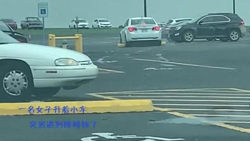 女司机就是要正面刚!没有什么能阻挡前进,猛加油门就是万金油