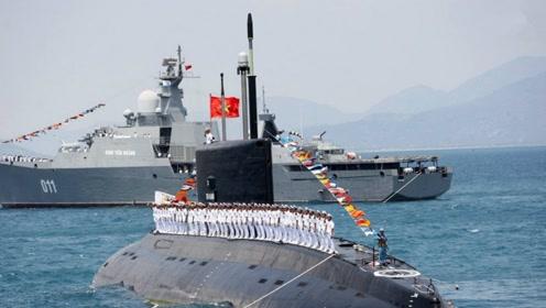 """越南海军""""秀肌肉"""",买四艘军舰当主力,美国:报万安滩之仇"""