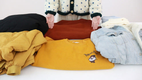 最全秋冬衣服收纳方法,叠得整齐省空间,不怕衣服多衣柜装不下