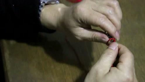 绑八字环复杂不好绑,教你简单实用绑八字环技巧,绑好后结实耐用