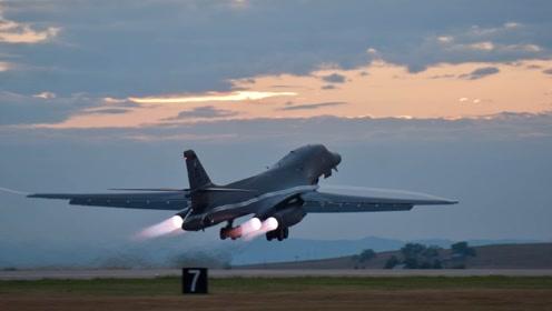 一架核轰炸机秘密抵达中东,调转枪口准备开战,美终于暴露真正目标