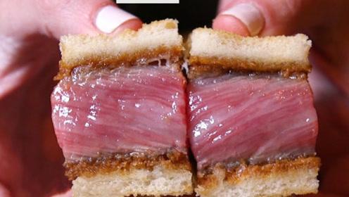 日本最贵的三明治,一口就要上百元,网友:心疼我的荷包!