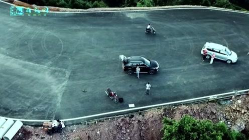 小伙藏着山里苦练车技,本以为没人知道,却被经过的无人机拍下来