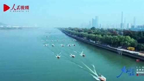 别眨眼!20秒带你看湖南消防救援总队水陆空超高能演练