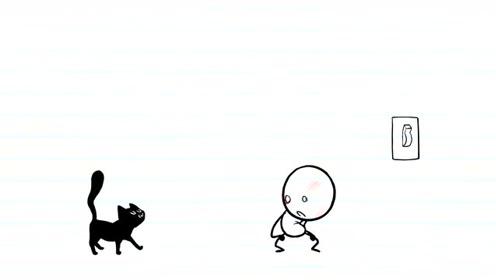 创口意搞笑简笔动画,搞事隐形人捉弄人,铅笔人的脸是怎么受伤的