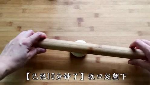 美食:酥饼试试这样做,不用烤箱,做出的饼个个酥到掉渣!