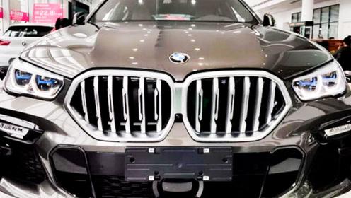 宝马全新X6到店实拍!不到76万就能买,年轻人理想座驾!
