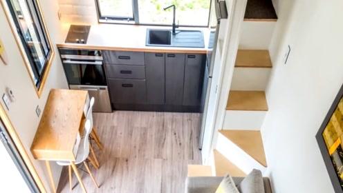 不到10平米的集装箱房,内部设施应有尽有,没买房的有福了