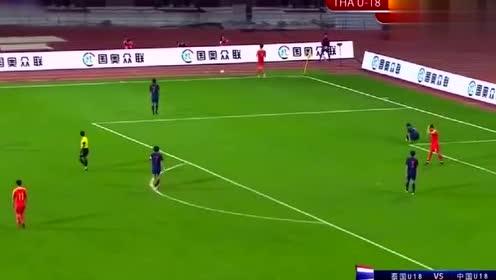 精彩回顾-中国足球惊现超级空门不进,这球可以竞争年度最佳吗?