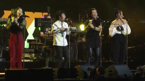 满满回忆杀!任贤齐演唱会与阿牛合唱经典,网友:这才是我们的青春