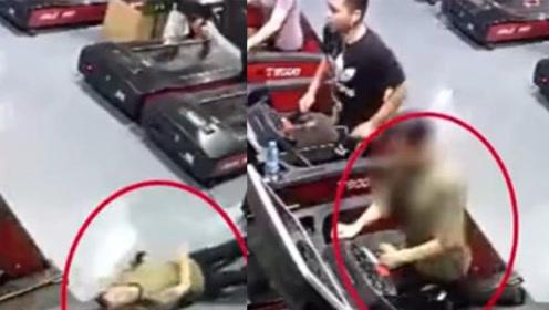 男子健身房跑步机上猝死!监控拍下事发时可怕瞬间