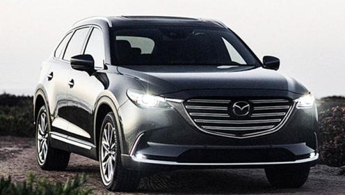 马自达新款CX-9海外上市!增6座车型,搭2.5T引擎