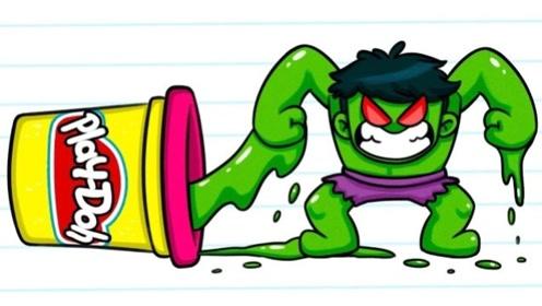 """男孩被一滩绿泥吃了变""""垃圾怪物"""",用马桶水洗手马桶刷刷牙,太恶心!"""