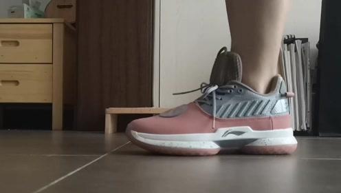 球鞋开箱:李宁最强篮球鞋!韦德之道7运动形变,软绝对软!