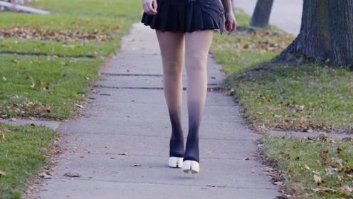 国外女性流行的马蹄鞋,站起来都十分费力,所有人都抢着穿!