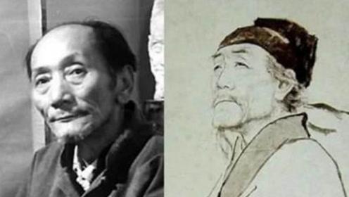 杜甫画像竟是画师自己?他是中央美院教授蒋兆和,网友:被骗了!