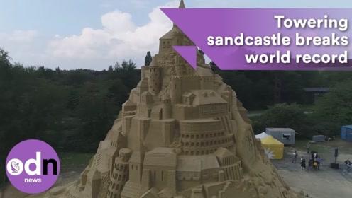 """世界上最大的""""沙雕城堡"""",一起来见识下"""
