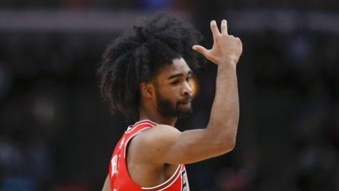 他也叫科比!公牛新秀单节7三分 创NBA历史纪录
