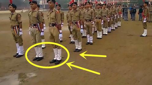 为什么说印度士兵最费鞋底?眼见为实